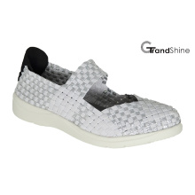 Women Causal Sports Knitting Weave Shoes