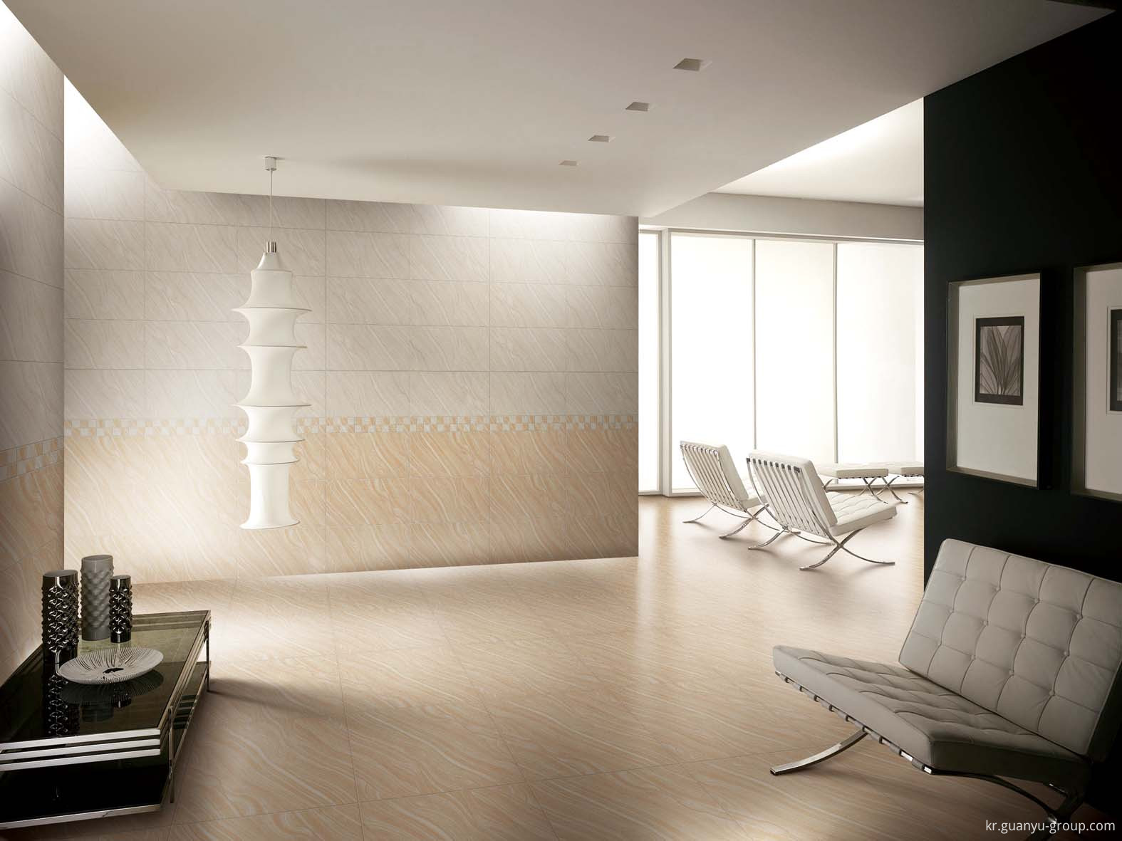 Beige Lappato Finished Porcelain Tile