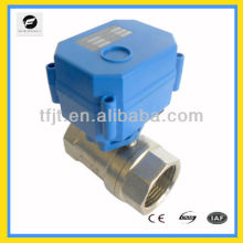 """miniature 1"""" DC 24V electric control operated ball valve for Irrigation equipment,drinking water equipment"""
