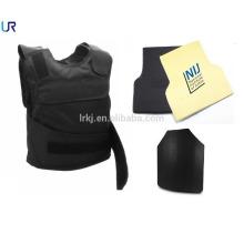 barato chaleco antibalas kevlar balístico militar del nivel 3/4 con el portador de la placa