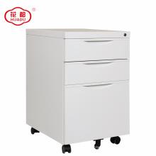 26-year experienced Huadu furniture 3 drawer mobile metal pedestal cabinet