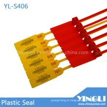 Selos de plástico de alta resistência com código de barras impresso (YL-S406)