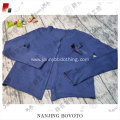 2017 JannyBB brand boutique blue cotton sweater