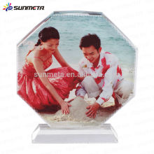 Hot Sale Sublimation crystal photo frame made in china yiwu