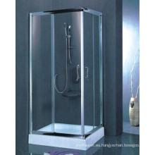 De alta calidad de vidrio transparente templado recinto de ducha simple (h003)