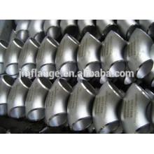 EN10253 alta qualidade A420 WPL 6 cotovelo de tubulação de aço de carbono