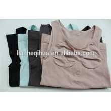Womens Seamless Undershirt Bodysuit Shapewear Tank Top Vest