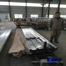 Hoja de acero galvanizado para techos para la construcción