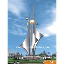 Escultura náutica da fonte da vela