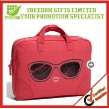 Promocional Custom Design Canvas Laptop Bags Atacado