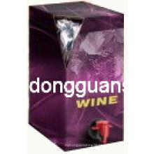 Vinho Embalagem Bag com bico / saco em caixa / embalagem de água saco