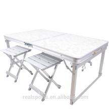 Niceway figura mesa de piquenique dobrável 4 assento conjunto de mesa de piquenique portátil