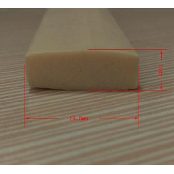 Tiras do selo da borracha de silicone do produto comestível