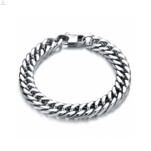 Jóias exclusivas pulseira de prata, pulseira de aço inoxidável, pulseira magnética