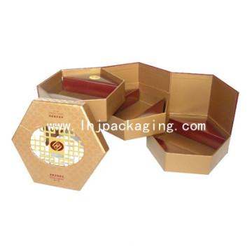 Caixa de Chocolate de Presente Rígida de Camadas Múltiplas