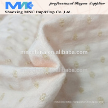 Hight Quality super poly rayon lurex fabric