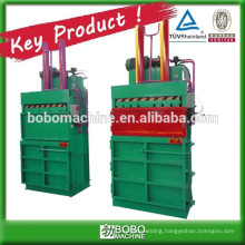 Bottle press baler machine with customized color