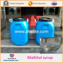 Líquido transparente descolorido funcional del jarabe de Maltitol para la categoría alimenticia
