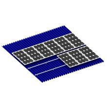 Алюминиевый Солнечной Фотоэлектрической Установки Systerm Петролеума, Химической Промышленнос Солнечный Рельс Рамы