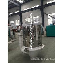 Séchoir de chauffage en plastique pour aspirateur à trémie en inox