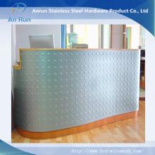 Treillis métallique perforé galvanisé de poinçonnage de trou