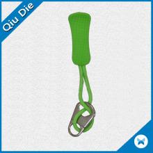 Ocm Green Colors Low MOQ Zipper Puller para acessórios esportivos