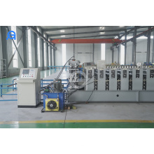 Color Steel Aluminum double layer roofing sheet roll forming machine