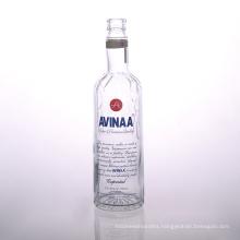 Printed 700ml Glass Vodka Bottle Suppliers