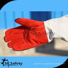 SRSAFETY AB класса Корова кожаные перчатки для работы и сварки