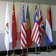 Pólo de bandeira interno do escritório