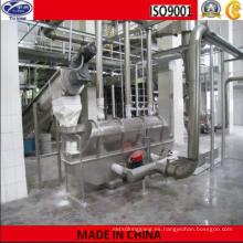 Máquina que seca vibrante de la cama de fluido del metasilicate del sodio