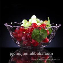 Краткое Кристалл фрукты для украшения дома,кристалл фрукт чаша