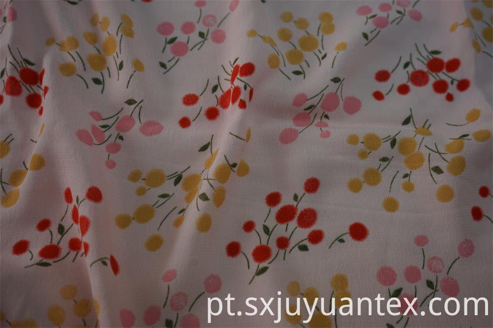 Viscose Crepe Print Fabric