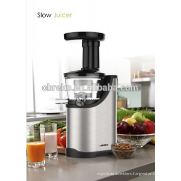 Low speed Stainless steel slow juicer/auger juicer with CE,GS,RTL,CB certificate