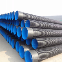 large diameter hdpe double-wall corrugated drainage pipe