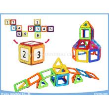 Russische Paket 40 STÜCKE Lernspielzeug Magnetische Spielzeug Puzzle Weisheit DIY Bausteine Spielzeug