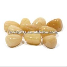 Pierres de galets de pierres précieuses miel Onyx