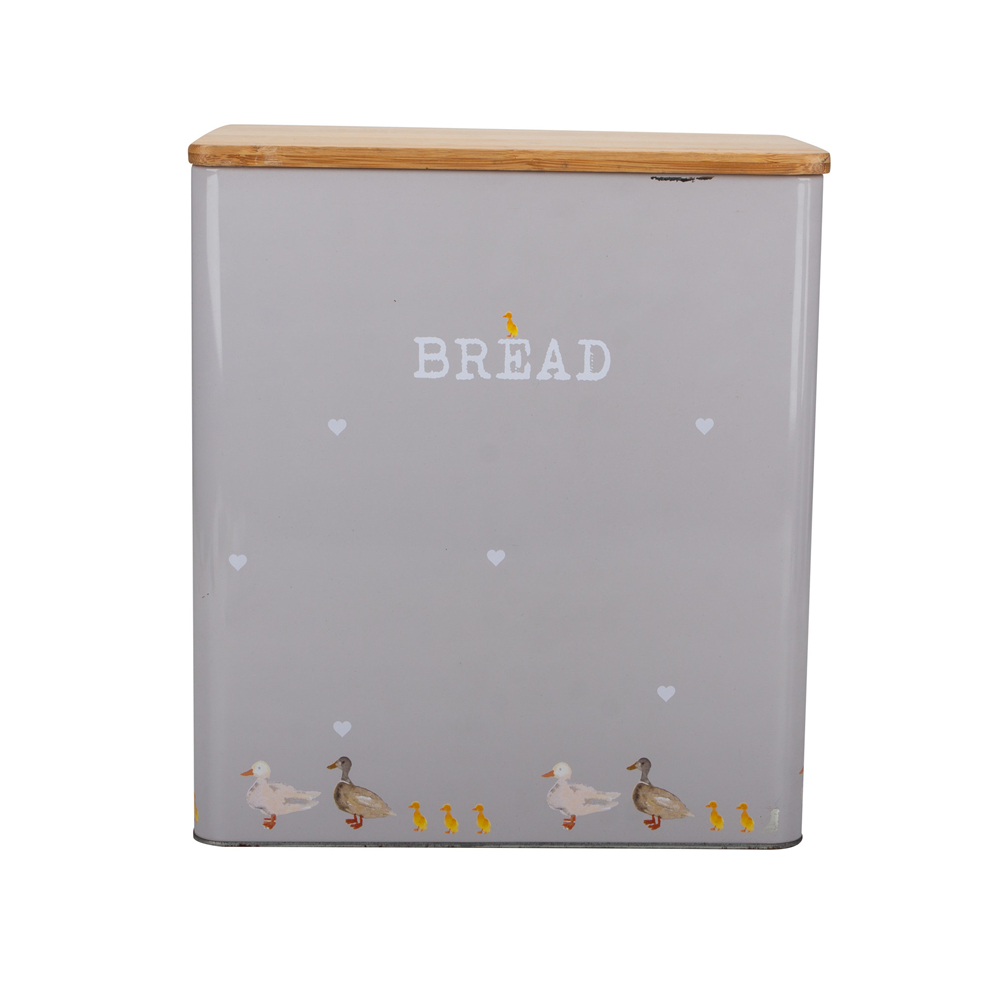 Bread Bin with Bamboo Lid