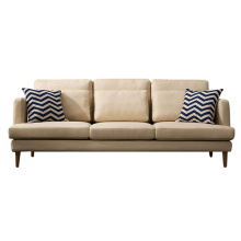 Fabric Upholstered Chaise Lounge Couches Sectional Sofa