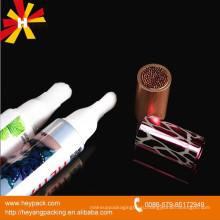Упаковка овальной пластиковой щетки