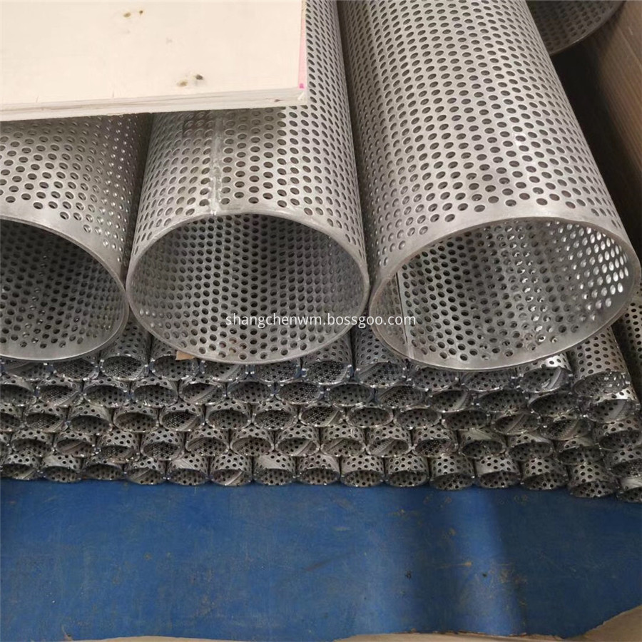 Pounched Metal Tube