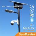 África Soncap Coc CE IEC Certfication Lámpara de calle solar LED