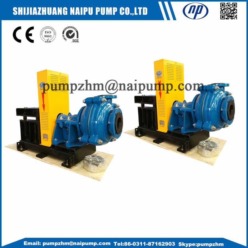 3 inch suction slurry pump
