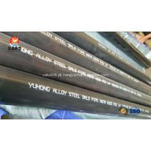 Tubulação sem emenda de aço de liga ASTM A335 P22