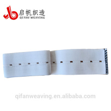 Banda elástica del agujero del botón de la buena calidad de la fábrica