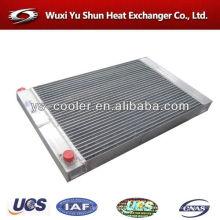 Placa de aluminio aleta aire refrigerador precio