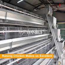 Poultry Equipment A Type Battery Chicken Layer Cages