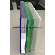 Hoja plástica de acrílico de la hoja del plexiglás de la hoja de PMMA