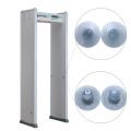 Fábrica de alta sensibilidade / Supermercado Sem detecção cega Detector de metais Porta