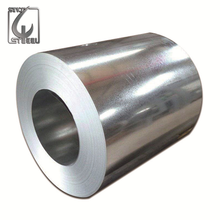 JIS ASTM DX51D SGCC 0.12-4mm Zinc Coated Cold Rolled Steel Coil Price GI Iron Coil Galvanized Steel Coil